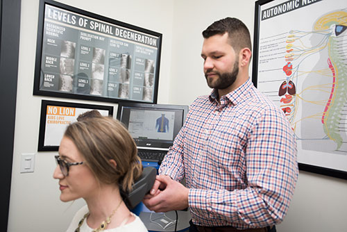 Initial exam at Velocity Chiropractic in Ann Arbor
