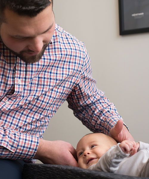 Chiropractic for newborns in Ann Arbor
